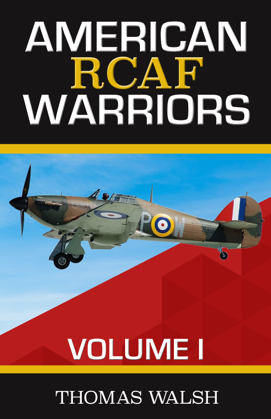 American RCAF Warriors Volume 1 Book Cover