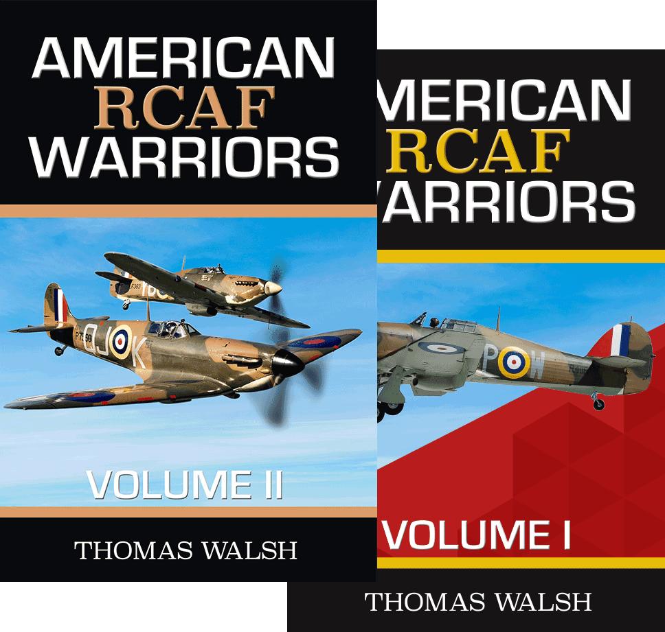 American RCAF Warriors Volulme I & II covers